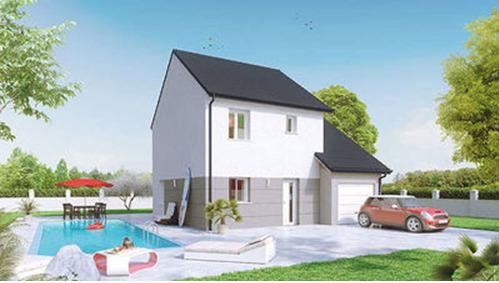Maison neuve, 84 m² Au c?…