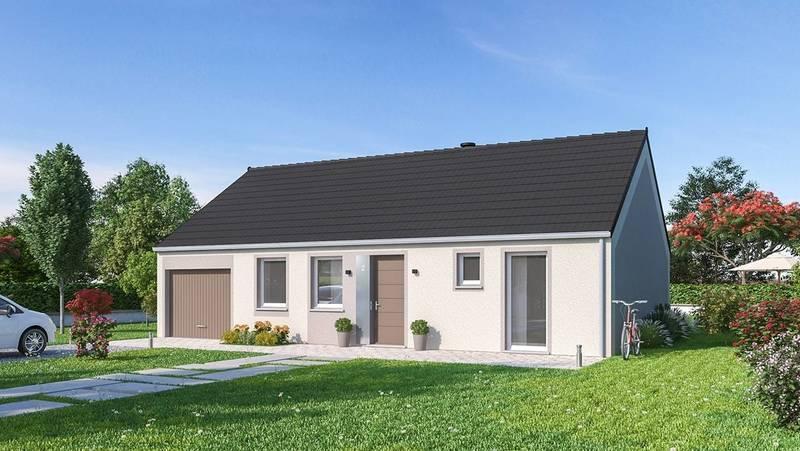 Maison neuve, 92,38 m² Proje…