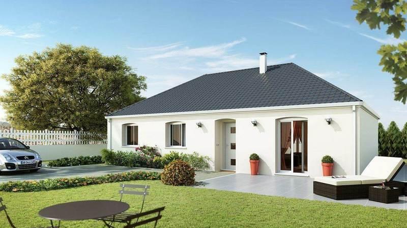 Maison neuve, 98 m² Donne…