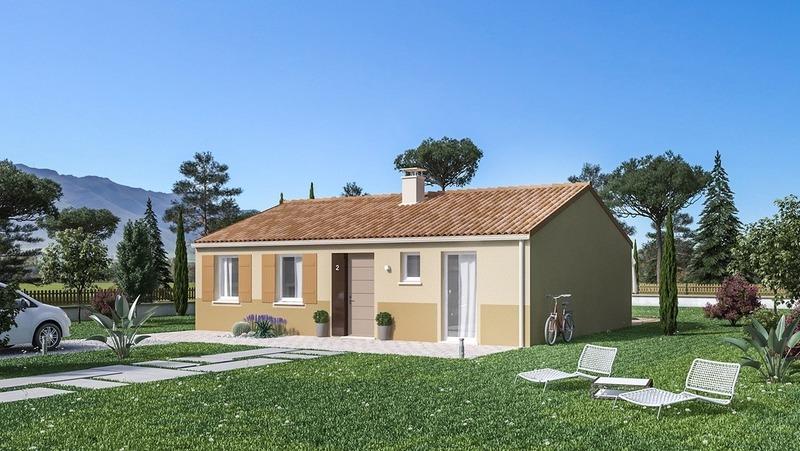 Maison neuve, 84 m² Situé…