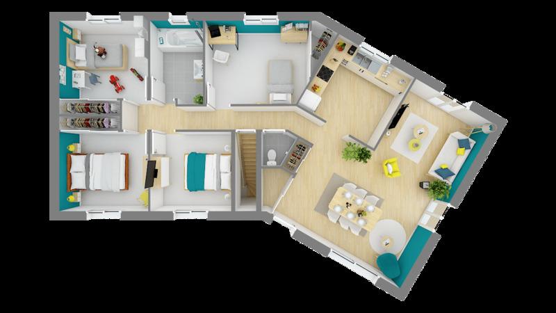 Maison neuve, 93 m² Avec …