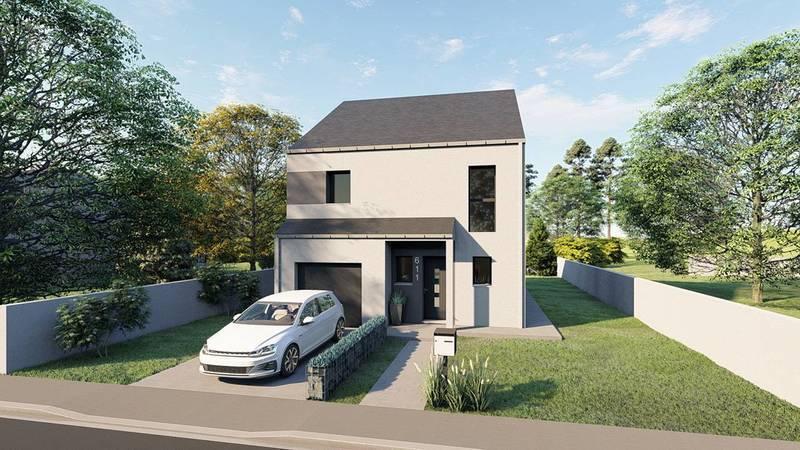Maison neuve, 111 m² DECOU…