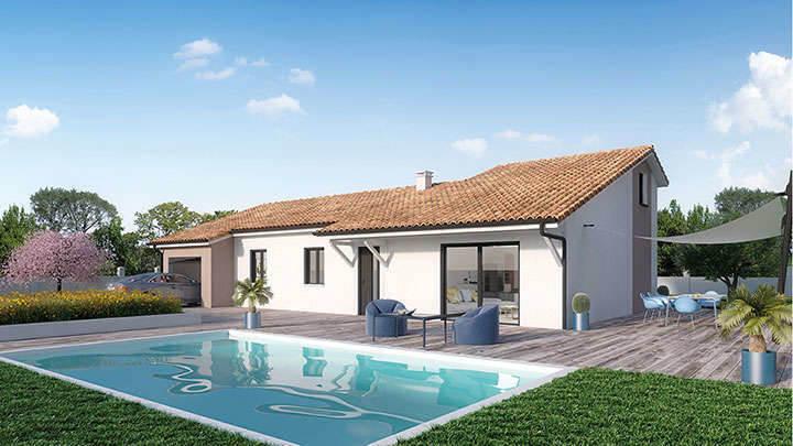 Maison neuve, 120 m² A la …