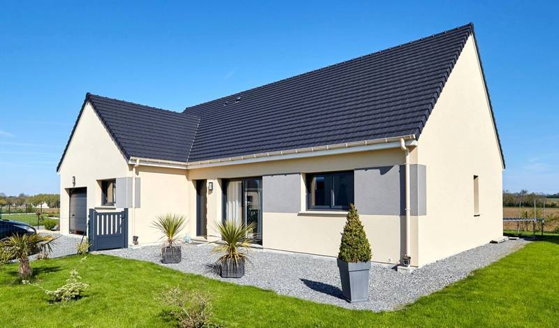 Maison neuve, 110 m² Terra…