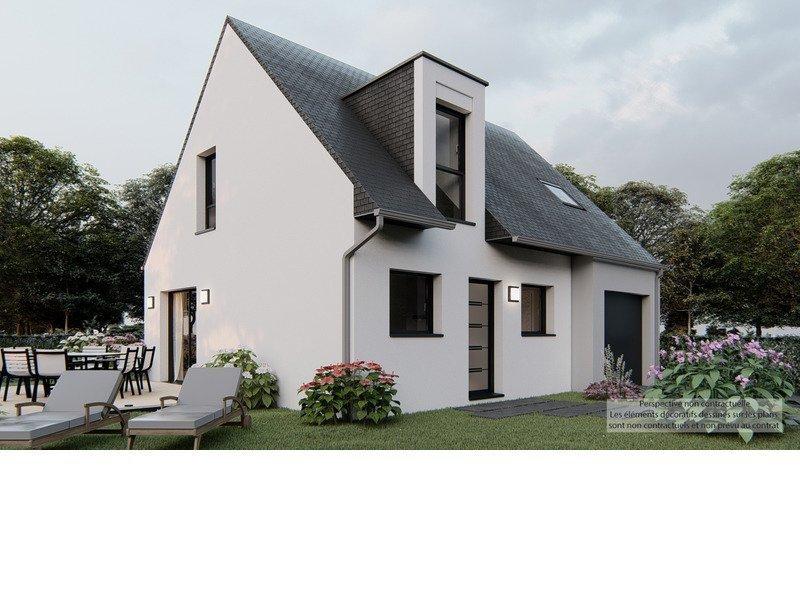 Maison neuve, 102 m² Terra…