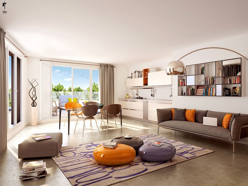 Appartement neuf, 35,3 m² Idéal…