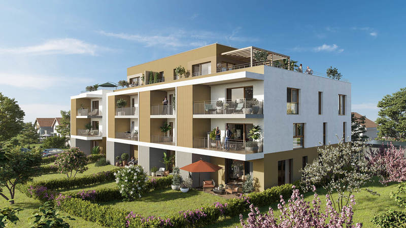 Appartement neuf, 62,98 m² Surpl…