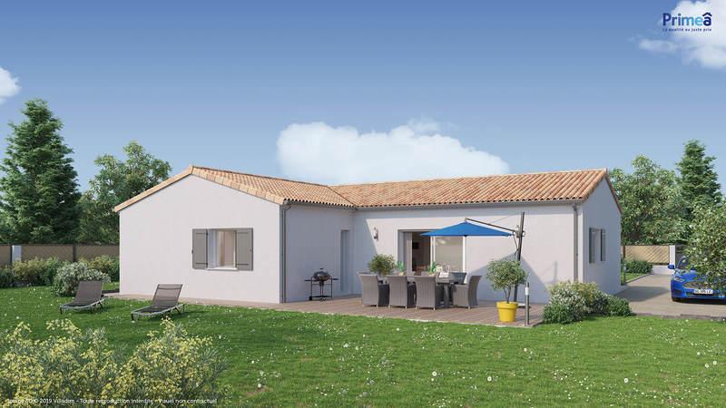 Maison neuve, 109 m² Casti…