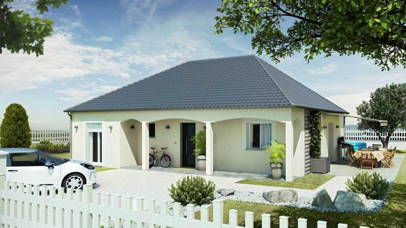 Maison neuve, 109 m² Comme…