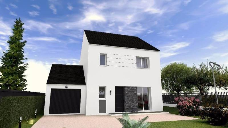Maison neuve, 96 m² La ma…