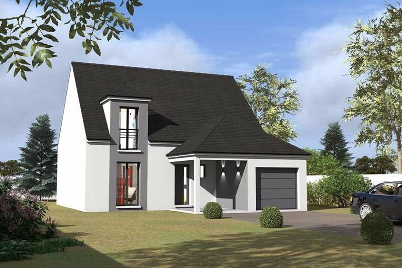 Maison neuve, 115 m² Cette…