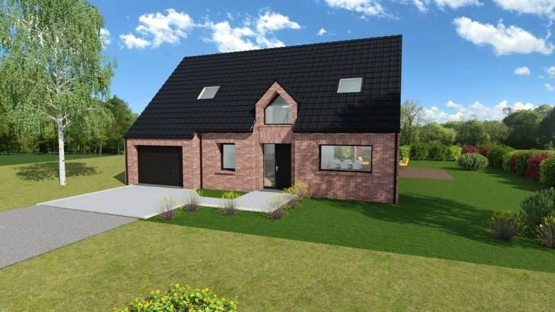 Maison neuve, 120 m² Terra…