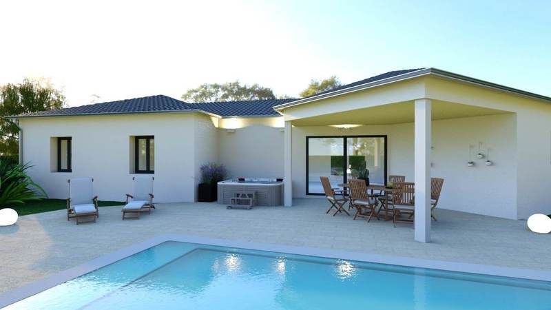 Maison neuve, 104 m² Rouqu…