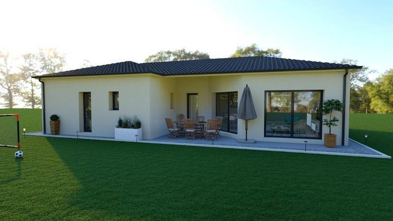Maison neuve, 93 m² a 15 …