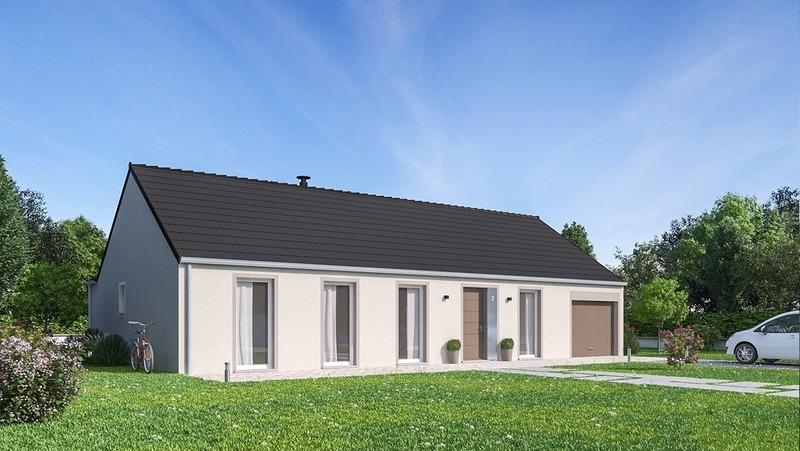 Maison neuve, 113 m² BLANC…
