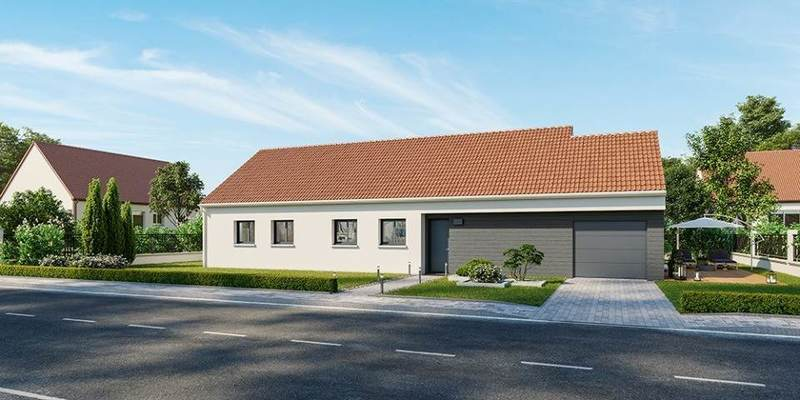 Maison neuve, 120 m² À Nog…