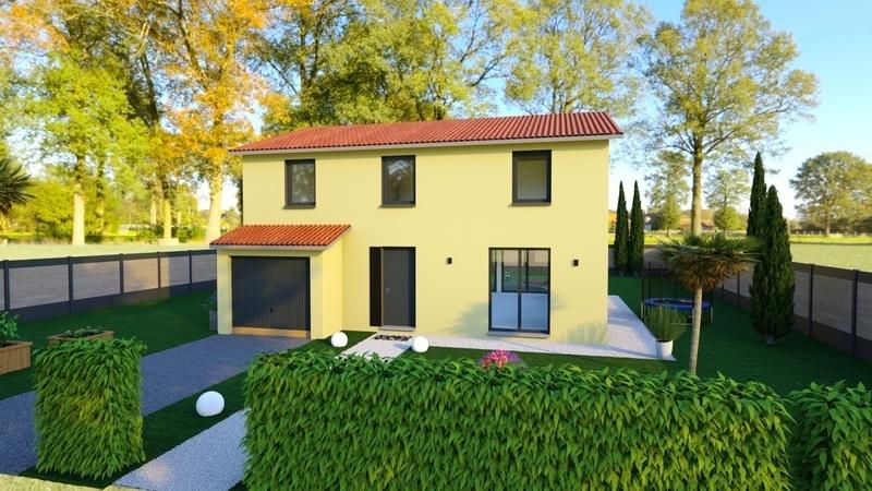 Maison neuve, 139 m² Proje…