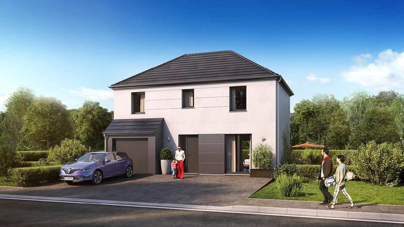 Maison neuve, 102 m² Prend…