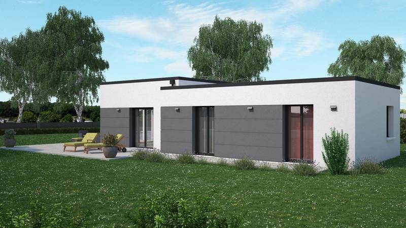 Maison neuve, 134 m² PEZE …