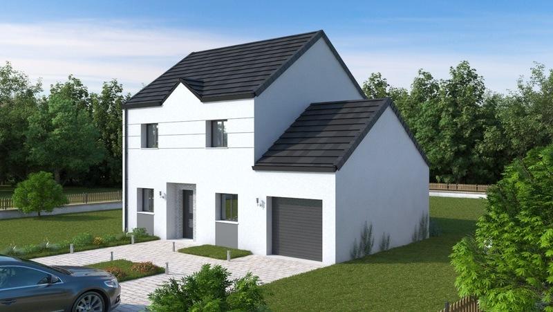 Maison neuve, 103,48 m² Mr HA…