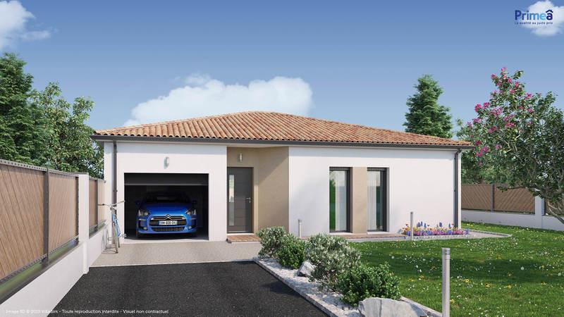 Maison neuve, 90 m² Beau …