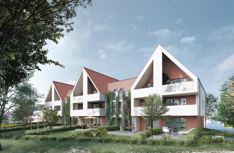 Appartement neuf, 44,51 m² Situé…