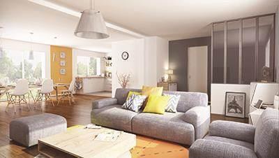 Maison neuve, 110 m² Conta…
