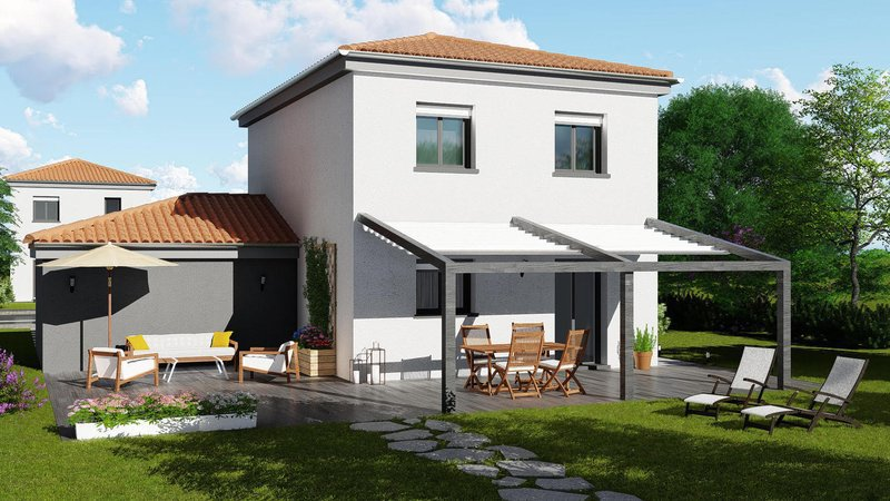 Maison neuve, 84 m² À SAI…