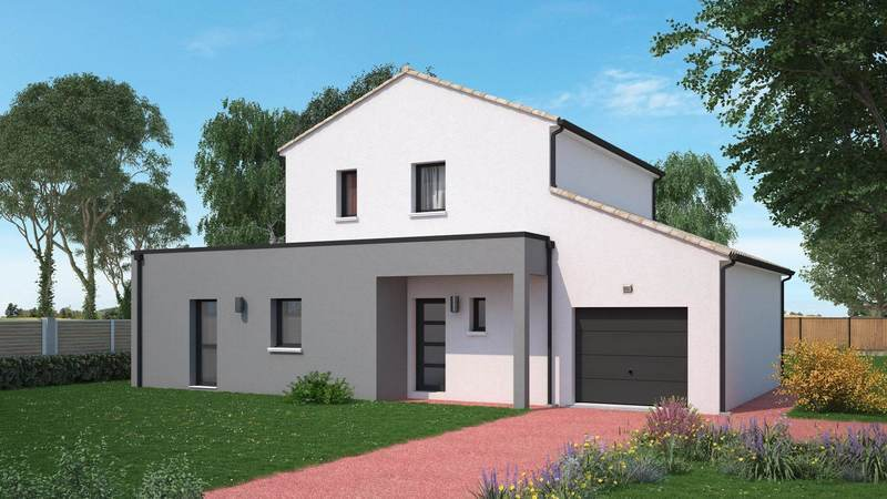 Maison neuve, 135 m² Beau …