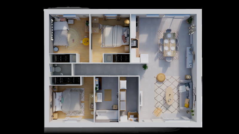 Maison neuve, 85 m² Magni…