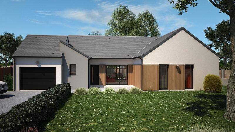 Maison neuve, 110 m² Beau …
