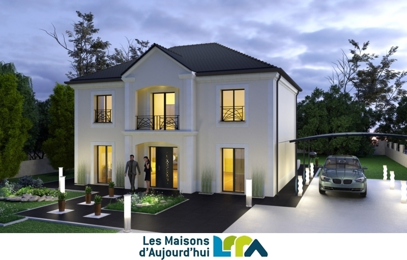 Maison neuve, 150 m² Terra…