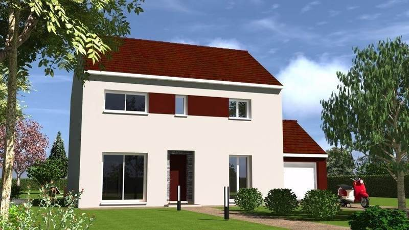 Maison neuve, 121 m² Le mo…