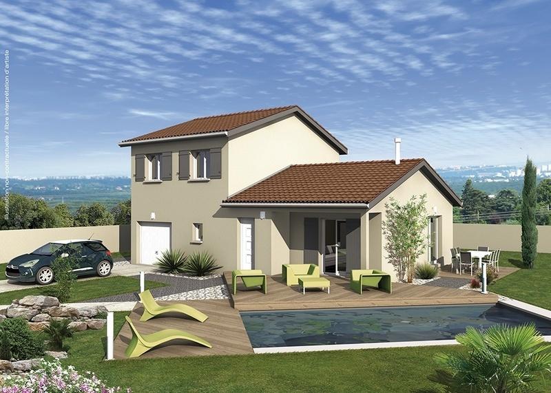 Maison neuve, 107 m² Au cœ…