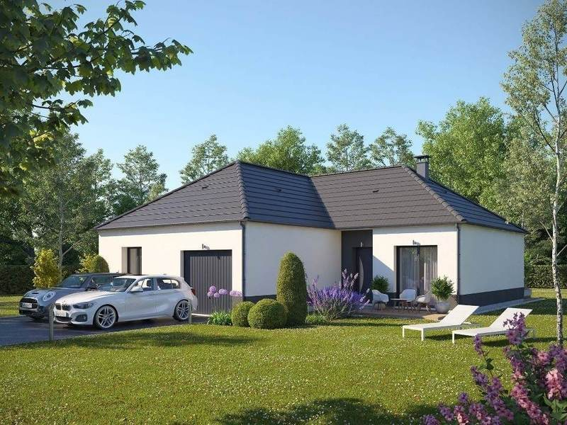 Maison neuve, 98 m² En ve…