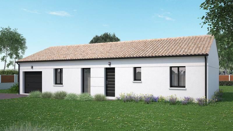 Maison neuve, 95 m² Idéal…