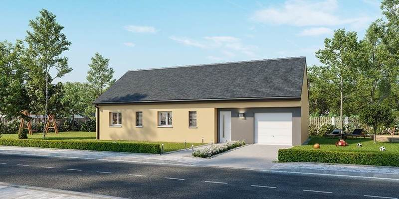 Maison neuve, 70 m² À La …