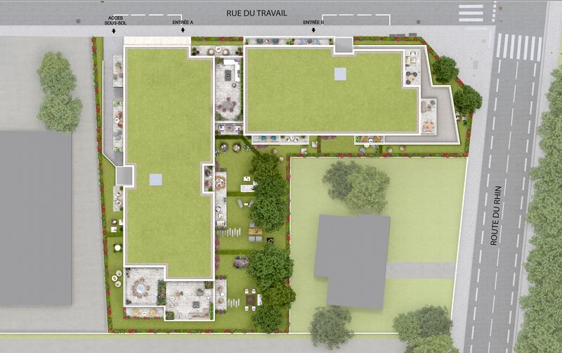 Appartement neuf, 60,84 m² Deven…