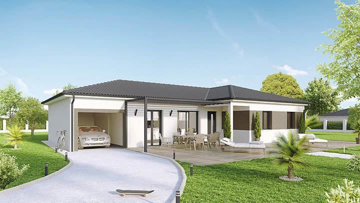 Maison neuve, 100 m² PROCH…