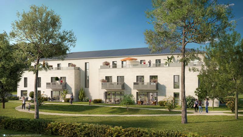 Appartement neuf, 40,36 m² Sur l…