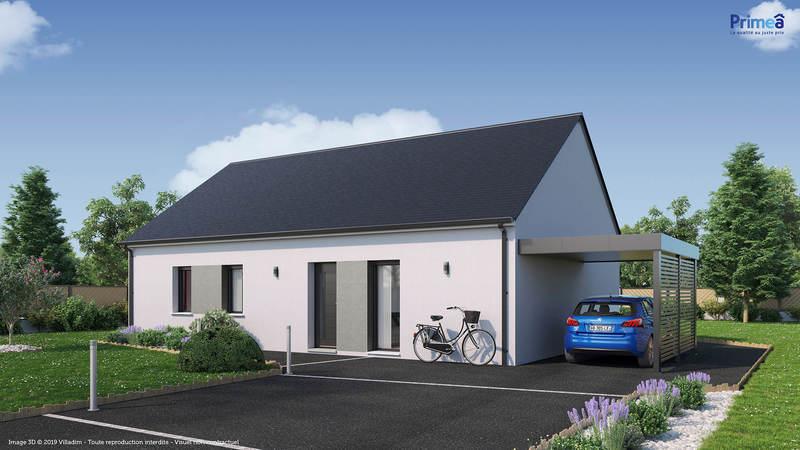 Maison neuve, 90 m² Situé…