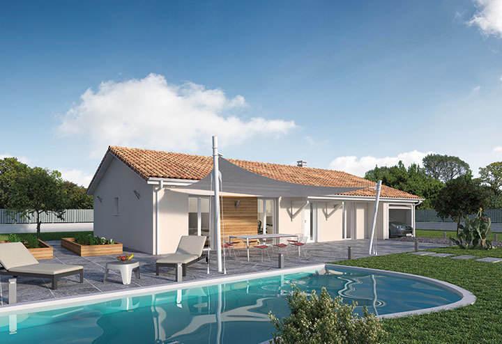 Maison neuve, 100 m² Retro…