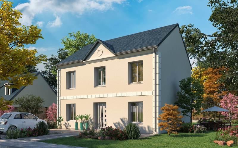 Maison neuve, 122,52 m² Beau …