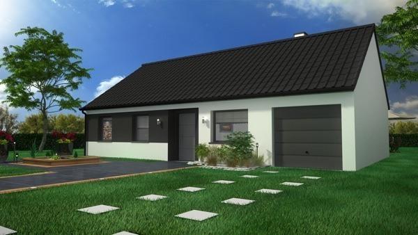 Maison neuve, 85 m² Proje…