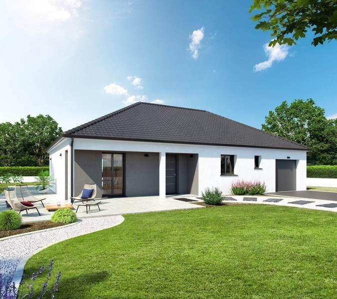 Maison neuve, 74 m² La Mé…