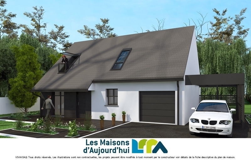 Maison neuve, 101 m² Terra…