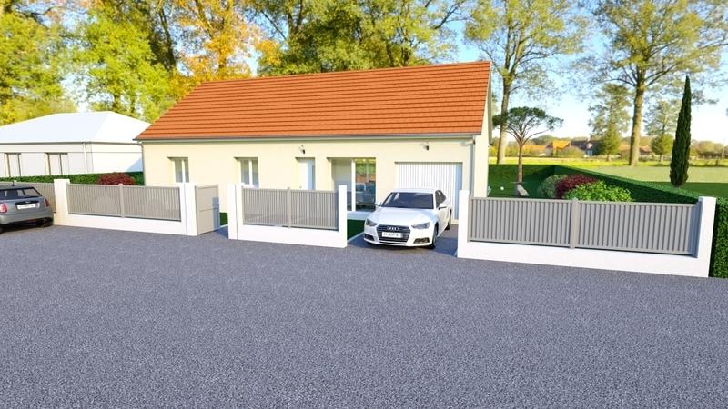 Maison neuve, 86 m² A seu…