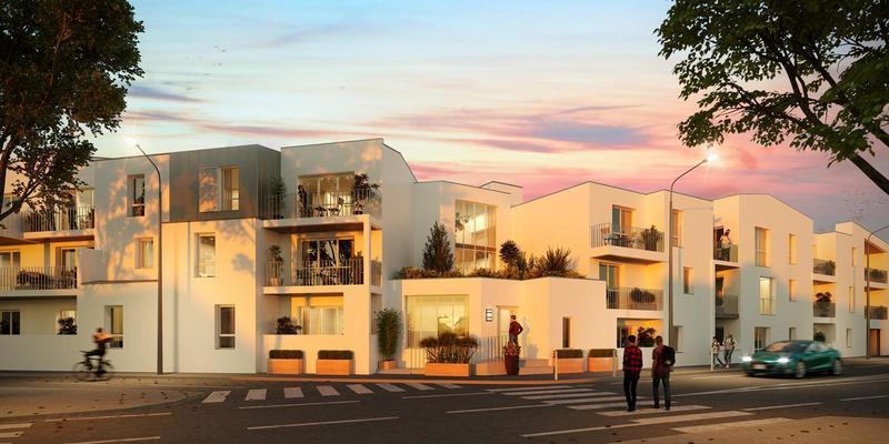 Appartement neuf, 61 m² La ré…