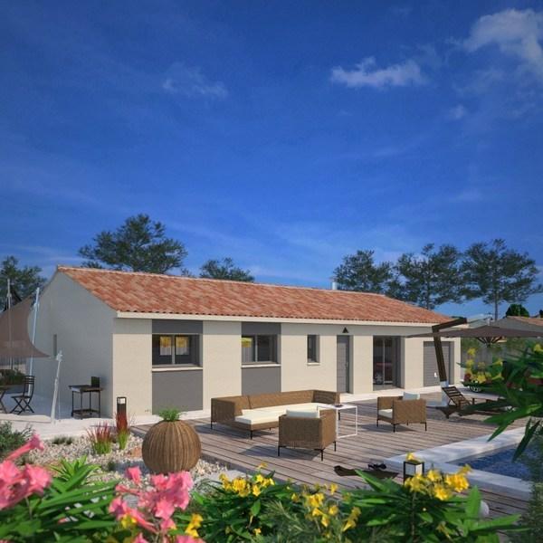 Maison neuve, 103 m² Les I…