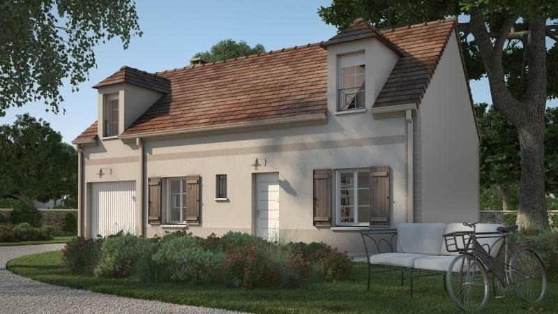Maison neuve, 90 m² Terra…
